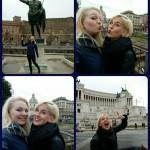 Blondies op de foto
